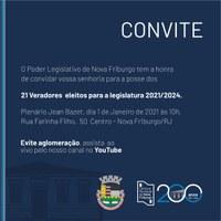 Posse 2021: Câmara empossa novo parlamento com restrições por causa pandemia