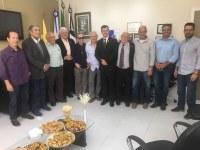 Ex-presidentes se reúnem na Câmara de Nova Friburgo